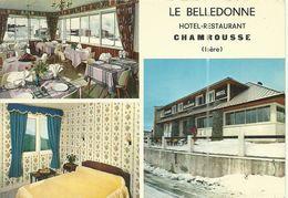 ( CHAMROUSSE )( 38 ISERE ) LE BELLEDONNE .HOTEL RESTAURANT - Chamrousse