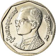 Monnaie, Thaïlande, Rama IX, 5 Baht, 2001, SPL, Copper-Nickel Clad Copper - Thaïlande