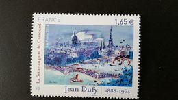France Timbre NEUF N° 4885  Année 2014 - Peinture - Oeuvre De Jean DUFY - La Seine Au Pont Du Carrousel - Tour Eiffel - France
