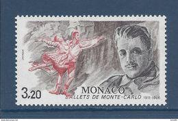 Monaco - YT N° 1533  - Neuf Sans Charnière - 1986 - Ongebruikt