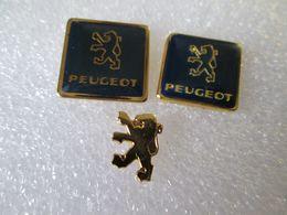 PIN'S   LOT 3  PEUGEOT - Peugeot