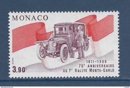 Monaco - YT N° 1534  - Neuf Sans Charnière - 1986 - Ongebruikt