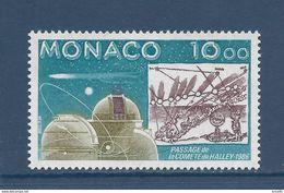 Monaco - YT N° 1536  - Neuf Sans Charnière - 1986 - Gebruikt