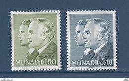 Monaco - YT N° 1538 Et 1539  - Neuf Sans Charnière - 1986 - Gebruikt