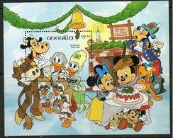 Anguilla - 1984 - Disney: Chistmas - Yv Bf 60 - Disney