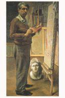 Art - Expo Giorgio De Chirico, JPN'89~90 - Autoritratto Nello Studio Di Parigi, 1934~35 - Malerei & Gemälde
