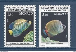 Monaco - YT N° 1541 Et 1542  - Neuf Sans Charnière - 1986 - Gebraucht