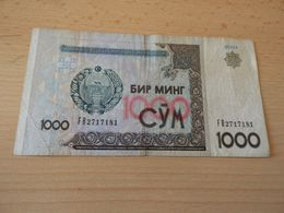 Banknote Uzbekistan 1.000 Sum 2001 - Uzbekistan