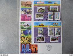 FDC (2) Grand Format France 2004 : La France à Voir (série Complète 2 BF) - FDC