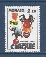 Monaco - YT N° 1550  - Neuf Sans Charnière - 1986 - Gebruikt