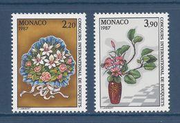 Monaco - YT N° 1551 Et 1552  - Neuf Sans Charnière - 1986 - Gebruikt