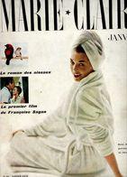 Marie Claire 1958 Janvier N° 39 Oa Mode Le Roman Des Oiseaux  Reclame Ea Pages 113  En Français - Magazines: Subscriptions
