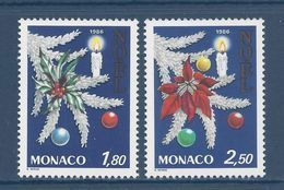 Monaco - YT N° 1554 Et 1555  - Neuf Sans Charnière - 1986 - Gebruikt