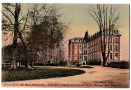 CPA 76 - MONT-CAUVAIRE (Seine Maritime) - Vue Maison Des Tilleuls (collège) - France