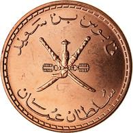 Monnaie, Oman, Qabus Bin Sa'id, 5 Baisa, 2008, British Royal Mint, SPL, Bronze - Oman