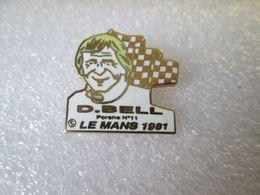PIN'S     DEREK  BELL   PORSCHE  LE MANS  1981 Email Grand Feu - Porsche