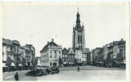 Kortrijk - Courtrai - Grote Markt En St-Maartenskerk - Grand'Place Et Eglise St-Martin - Ern. Thill No 30 - Kortrijk