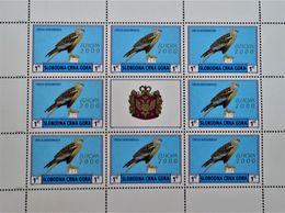 EMISSION PRIVEE CLANDESTINE 2000 - 2 FEUILLETS NEUFS ** - PH MON004 - Montenegro