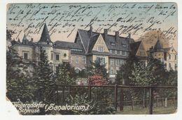 Woltersdorfer Schleuse (Sanatorium) Old Postcard Posted 1914 PT200605 - Woltersdorf