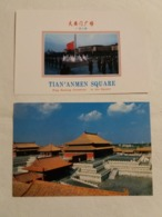 """(Z2) 2 CP """" Post Card China : Tian'Anmen Square . Le Palais Impérial"""" - China"""