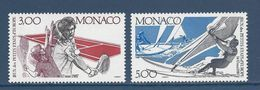 Monaco - YT N° 1579 Et 1580 - Neuf Sans Charnière - 1987 - Monaco