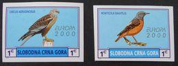 EMISSION PRIVEE CLANDESTINE 2000 - NEUFS ** - NON-DENTELES - PH MON005 - Montenegro