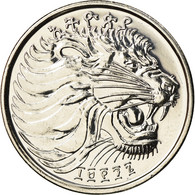 Monnaie, Éthiopie, 50 Cents, 2004, Berlin, SPL, Copper-Nickel Plated Steel - Ethiopia