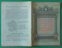 Brochure Géographie De La France De Ch. Brossard - Seine Inférieure IV - Veules, Yport, Fécamp, Varengeville, ... - Geografía