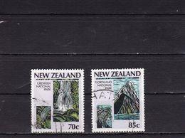 NEW ZEALAND 1987 Centenary Of National Parks Movement - 70c + 85 C - Nouvelle-Zélande