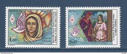 Monaco - YT N° 1594 Et 1595 - Neuf Sans Charnière - 1987 - Monaco