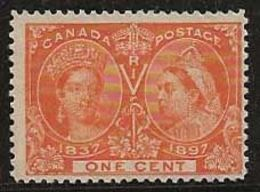 Canada 1897 N° Y&T :  39 Sans Gomme - 1851-1902 Reign Of Victoria
