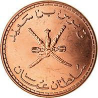 Monnaie, Oman, Qabus Bin Sa'id, 10 Baisa, 2008, British Royal Mint, FDC, Bronze - Oman