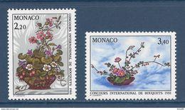 Monaco - YT N° 1597 Et 1598 - Neuf Sans Charnière - 1987 - Monaco