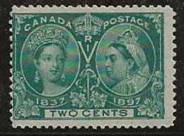 Canada 1897 N° Y&T :  40 Sans Gomme - 1851-1902 Reign Of Victoria