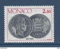Monaco - YT N° 1600 - Neuf Sans Charnière - 1987 - Ongebruikt