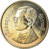 Monnaie, Thaïlande, Rama IX, Baht, 2001, SPL+, Copper-nickel, KM:183 - Tailandia