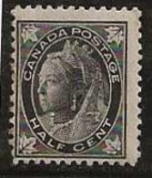 Canada 1897-1898 N° Y&T :  54 ** - 1851-1902 Reign Of Victoria