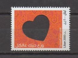Valentine Day 2018 Lebanon MNH Stamp Valentin Liban Libanon - Liban