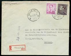 Doc. De  VOLLEZELE - A A - Du 13/05/66 - En Rec. - Marcophilie