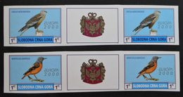 EMISSION PRIVEE CLANDESTINE 2000 - NEUFS ** - 2 BANDES NON-DENTELEES -  PH MON007 - Montenegro