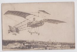 BOULOGNE-SUR-MER - Carte-photo Photo-Montage Avion Aviateur Aviation Simon Photographe - Boulogne Sur Mer