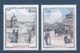 Monaco - YT N° 1611 Et 1612 - Neuf Sans Charnière - 1987 - Ongebruikt