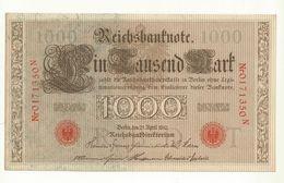 BILLET ALLEMAGNE 1910  1000 MARK NEUF  SUPERBE - 1000 Mark