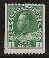 Canada 1911-1916 N° Y&T :  93aA Sans Gomme - Unused Stamps