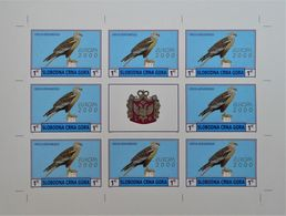 EMISSION PRIVEE CLANDESTINE 2000 - 2 FEUILLETS NEUFS ** - NON-DENTELES - PH MON00 - Montenegro