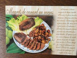 MAGRETS DE CANARD AU VERJUS - Recipes (cooking)