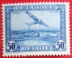 50c FOKKER Luchtpost Poste Aérienne 1930 OBP PA/LP 1 (Mi 280) POSTFRIS /MNH ** BELGIE BELGIUM - Airmail