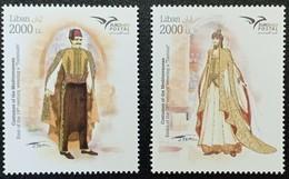 New Issue 2019 Euromed Lebanon Costume 2 MNH Stamps, Liban Libano - Liban