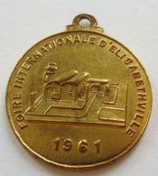 M02112 SOCIETE GENERALE METALLURGIQUE DE HOBOKEN -MINERAIS - FIORE INTERNATIONALE D'ELISABETHVILLE - 1961 (8g) - Professionnels / De Société
