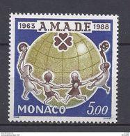 Monaco - YT N° 1625 - Neuf Sans Charnière - 1988 - Ongebruikt